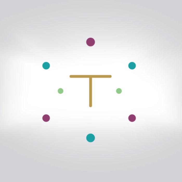 Tara aid logo design by Ana Balog design