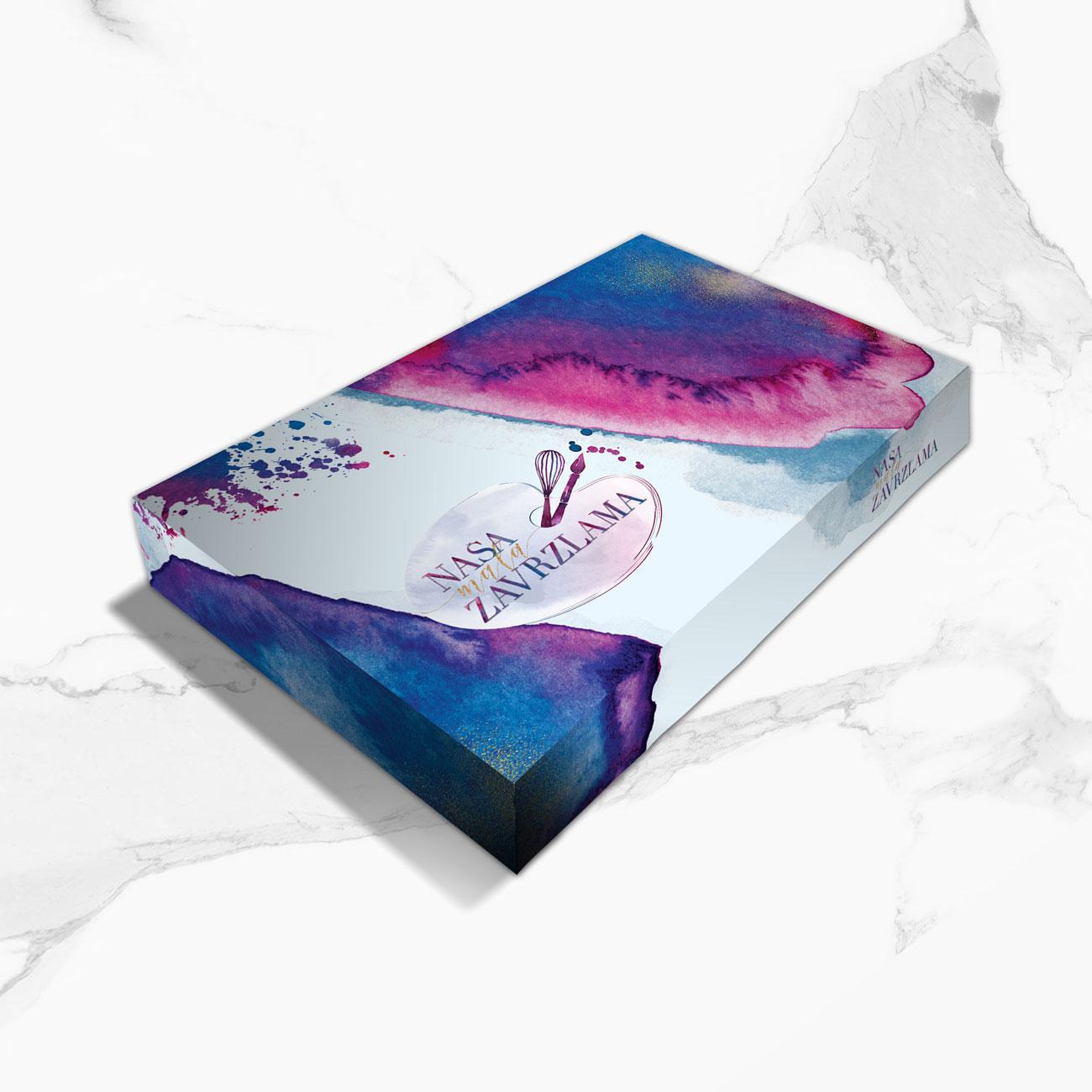 Cake packaging design by Ana Balog design