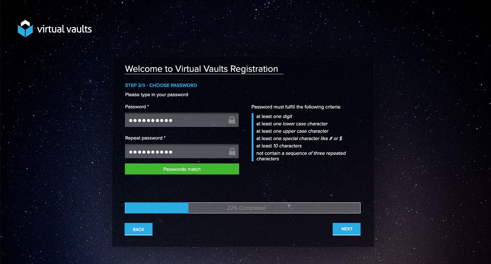 Registracija korisnika - dizajn aplikacije
