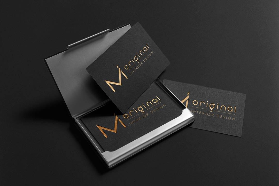 MI Original - stationery, logo design