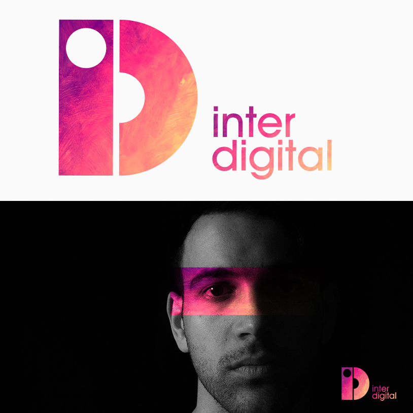 Inter Digital logo design